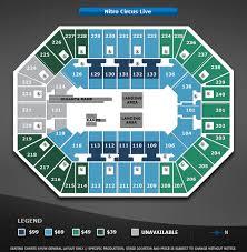 Target Center Nitro Circus Seating Chart Nitro Circus Live Target Center