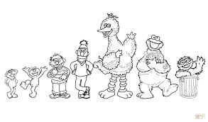 Sesame Street Sign Coloring Page Adult Coloring Good Sesame Street