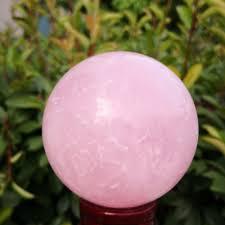 Натуральный <b>розовый кварц</b> кристалл целебный <b>ШАР</b> СФЕРА + ...