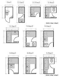 Les petites salles de bains (2 / 3 m). Small RoomsSmall BathroomsSmall  Bathroom PlansBathroom ...