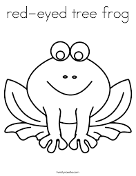 Small Picture red eyed tree frog Coloring Page Twisty Noodle