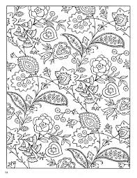Dover Paisley Designs Coloring Book More