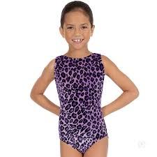 s sweet safari gymnastics leotard