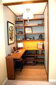 closet office. Desk Small Closet Office Ideas Walk In Home With Plan G