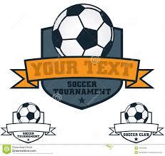 Soccer Logo Maker Soccer Crest Stock Vector Illustration Of Soccer Club