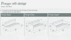 bonaldo pongo sofa bed by designer furniture modern for sleeper mattress sizes design 9