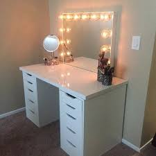 white table top ikea. Nice Table Top And Best Tops Ideas On Home Design White Ikea Alex Linnmon  Drawers Enchanting . Desk Dupe
