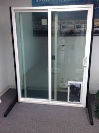 sliding glass doors with door built in storm dog french pet medium size of sliding glass
