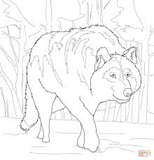 Printable Wolf Coloring Pages Wumingme
