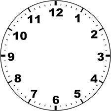 Blank Clock Face Printable Siteraven