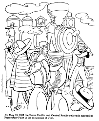 Small Picture Union Central Railroads History coloring pages for kid 065