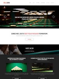 Flash Website Templates Gorgeous Snooker Website Template Billiard Sports DreamTemplate