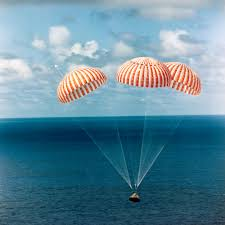 Image result for The very moment Apollo 8 touched the ocean