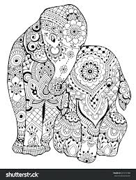 coloring pages of elephants elephants coloring page i free coloring pages animals elephants