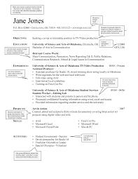 font size resume