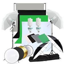 abeststudio photography studio backdrop soft umbrella lighting kit background support stand 60cm 5 in