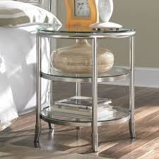 round metal nightstand. Round Glass Nightstand Google Search Metal Stylish Bedroom Modern On