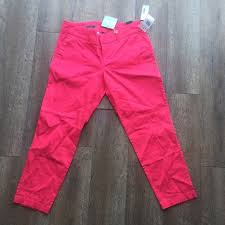 Nwt Kut From The Kloth Pink Trousers Size 4 Nwt