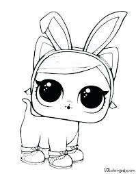 Coloring Pages Unicorn Coloring Pages Lol Doll Spice Surprise