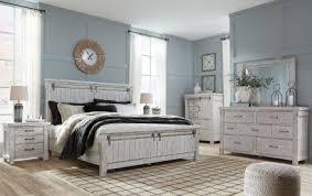 Brashland White Panel Bedroom Set - 1StopBedrooms.