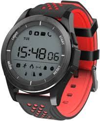 <b>Умные часы NO.1 F3</b> (черный, красный)