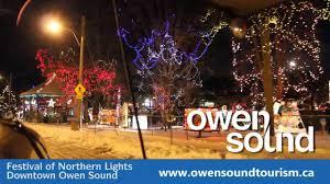 Owen Sound Festival Of Lights 2018 Festival Of Northern Lights Owen Sound Ontario