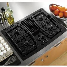 gas cooktop with downdraft. Beautiful Downdraft GE Profile Series PGP989DNBB 30 In Gas Cooktop With Downdraft T