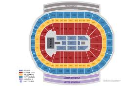 Kid Rock Detroit Seating Chart Little Caesars Arena Seating Chart Arenda Stroy