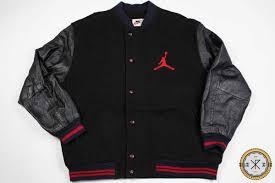 vintage nike michael jordan leather jacket