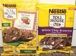 nestle toll house cookies white chip brownie vs hot cocoa blind taste test