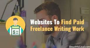 websites to paid lance writing work updated  5 websites to paid lance writing work updated