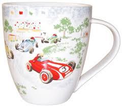 Cath Kidston Racing Cars Crush Mug Fine China Vdgsb Ervbhyjm