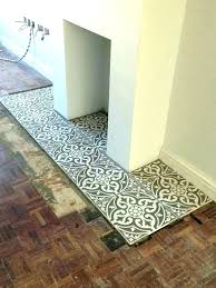fireplace hearth ideas with tiles or slate chri