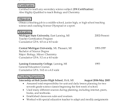 Resume : Enjoyable Teaching Resume Career Change Notable Teaching Awesome  Collection Of Cover Letter Biology Teacher .
