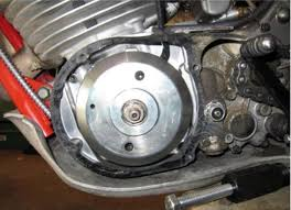 powerdynamo for yamaha ty 250 ty 250 engine the installed system