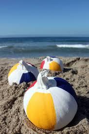Beach Ball Decoration Ideas Beach Ball Pumpkins 100 Fabulous Pumpkin Decorating Ideas Livingly 68