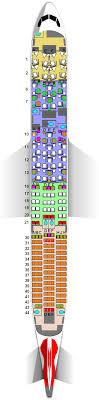 British Airways Boeing 787 9 8f 42j 39w 127y Seat Map