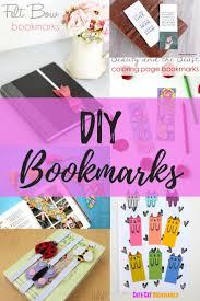 Design Handmade Bookmarks 15 Diy Bookmarks Cutesy Crafts