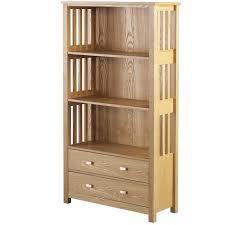 seconique ashmore 2 drawer bookcase high
