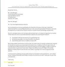Cover Letter Samples For A Job New New Graduate Nurse Resume Sample