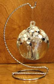 Christmas Ornament Display Stands Stunning Blown Glass Ball Display Stands