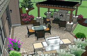 patio designs with fireplace. Outdoor Patio Designs Ideas With Fireplace Grill For Best U