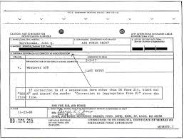 Dd Form Sample Completed DD Form 24 2