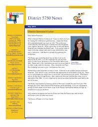 District 5750 News