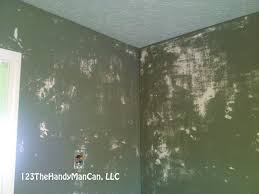 dangers of painting over wallpaper glue