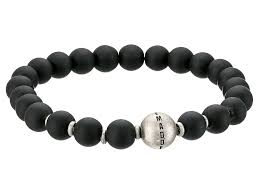 steve madden snless steel metal ball and beaded bracelet silver mens jewelry bracelets stretch steve madden wedges sneakers in stock