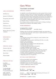 Accountant Assistant Resume Sample Accounting Assistant Resume