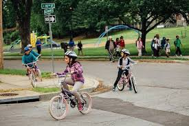 meet mike lanza the anti helicopter parent of silicon valley kids bike to school