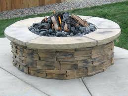 Rock Fire Pit Pictures Outdoor Block River Bowl Natural Stone Ideas: Full  Size ...