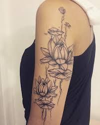 тату лотос лотосы водная лилия тату Tattoos Flowers и Dream Catcher